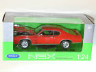 Welly - 1969 PONTIAC GTO (Orange) - Die Cast Model Scale 1:24