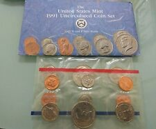 Willie: United States 1991 coin set