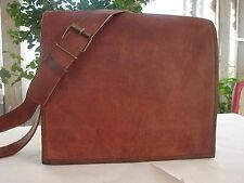 "7x9"" Genuine Leather men Shoulder Messenger BAG best Satchel vintage School"