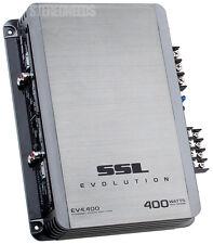 SOUNDSTORM EV4.400 400 WATT 4/2 CHANNEL CH AMP CAR STEREO AUDIO AMPLIFIER WARNTY
