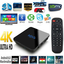 MXQ PRO 4k Quad Core Android 6.0 MARSHMALLOW Smart TV Box completamente caricato XBMC Kodi