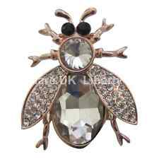 Bee Brooch / Insect Brooch / Rose Gold Bee Brooch with Swarovski Elements  #460