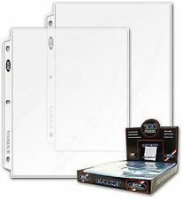 Pro 1-Pocket Document Page Sleeve (100 Count) 8.5 x 11