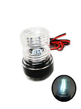 Pactrade Marine 12V Yacht Navigation Anchor Light 360°All Around LED Splashproof