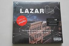 Lazarus - Musical by David Bowie and Enda Walsh 2CD  POLISH Stickers