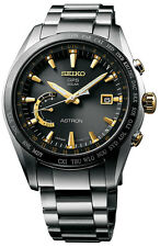 New Seiko Astron Solar GPS Titanium  Men's Watch SSE087