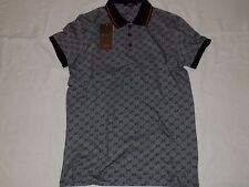 Gucci Men's New TShirt Poloshirt Top Grey color Size M