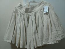 SOLITAIRE LADIES FLAREDSKIRT BY RAVI KHOSLA CREAM SIZE S NEW