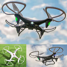 2,4 GHZ 4 channel RC Drone Quadrocopter UFO Helicopter HD Video photo camera NEW