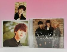 CD SUPER JUNIOR K.R.Y E.L.F JAPAN Limited 2 Photo cards Kyuhyun Promise You