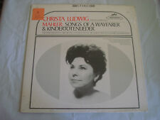 CHRISTA LUDWIG mahler songs of a wayfarer LP - S 60026 Vinyl  Record ~SEALED~