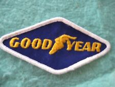 """Vintage Good Year Tires Drag Racing Patch 4 3/8"""" X 2 1/8"""""""
