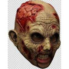 Zombie Chin Strap Latex Mask Fancy Dress Halloween Adult