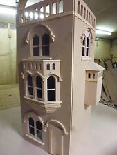 Dolls House 12th scale   The Tower House.   KIT  Mediaeval in style  by  DHD