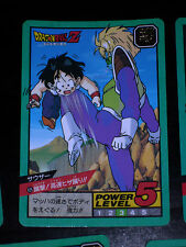 DRAGON BALL GT Z DBZ SUPER BATTLE POWER LEVEL CARDDASS CARD CARTE 425 JAPAN NM