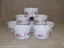 "Mikasa Silk Flowers 8 Ultra Ceram Bake N Serve Ramekins 4"" by 2"""