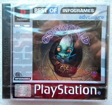 ODDWORLD ABE ODDYSEE PS1 PLAYSTATION ONE  PAL ALL ENGLISH FACTORY SEALED
