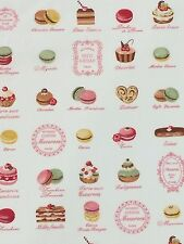 Afternoon Tea Fabric Remnant 100% Cotton 50cm x 40cm