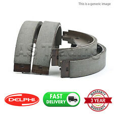 REAR DELPHI LOCKHEED PARKING BRAKE SHOES FOR JEEP CHEROKEE 3.7 4X4 (2003-2008)