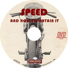 Speed and How To Obtain It { Vintage Motorcycle How To Handbook } on DVD