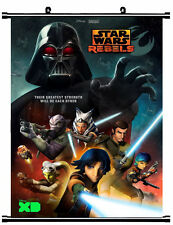 STAR WARS REBELS Living Room Bedroom Mural Decor Wall Scroll Poster