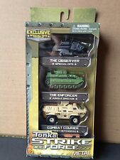 Tonka Strike Force Metal Diecast 3 Pack Combat Courier the Enforcer the Observer