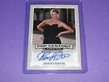 2014 Pop Century KRISTEN RENTON Autograph Silver/25 - SOA Sons of Anarchy CSI OC