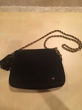 Authentic Bally Black Quilted Shoulder Bag