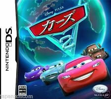 Used DS Disney Cars 2: The Video Game NINTENDO JAPANESE IMPORT