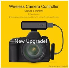Upgrade CamFi CF102 DSLR Camera Wireless Control from IP for Canon Nikon Sony