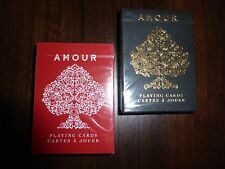 Amour Limited Edition Custom Playing Cards 2 Decks Collectors Classic Poker $