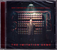 THE IMITATION GAME Alexandre Desplat OST Soundtrack CD Ein streng geheimes Leben