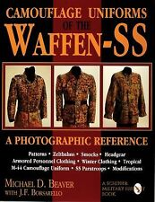 Book - Camouflage Uniforms of the Waffen-SS : A Photographic Reference