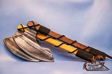 """BEAUTIFUL SMALL """"VIKING'S AX"""" CHILDREN KIDS ADULT HAND CRAFTED WOODEN TOY!!!"""