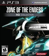 Zone Of The Enders HD Collection - Classic High Speed Robot Action PS3 NEW