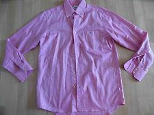 LACOSTE schönes rosa Herrenhemd Gr. 40 w. NEU 06-13