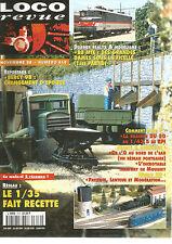 LOCO REVUE N°619 RESEAU : 1/35 FAIT RECETTE / BB MTE / DRAISINE DU 50 AU 1/43.5