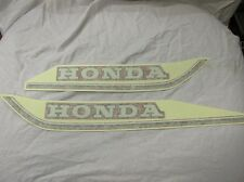 GENUINE HONDA C50 C70 C90 PAIR OF TANK DECALS RED 87121-GB4-600ZC