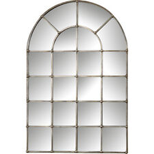 Restoration Hardware Replica Palladian Arched Window Pane Wall Floor Mirror $599