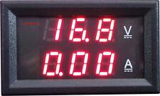 Voltmeter Ammeter LED Digital Voltage Current Measurement Meter DC 4.5-30V/10A