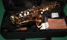 SAXOPHONE SOPRANO COURBE' Sib+Fa# NEW ORLEANS® COULEUR OR + REEDS + CD