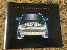 2002 Buick RENDEZVOUS 44-page Original Dealer Brochure