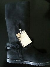 John Galliano Girls Boots Size 1 (EUR31) , Extremely Gorgeous with real fur