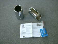 VW Volkswagen Golf GTI Rabbit Jetta Sportswagen Muffler Exhaust Tips OEM NOS