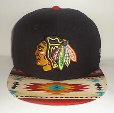 PICK1 Chicago Blackhawks New Era 9Fifty 59Fifty Fitted Mitchell & Ness SnapBack