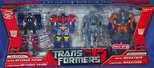 Transformers Movie Optimus Prime Megatron Target Exclusive Legends Set