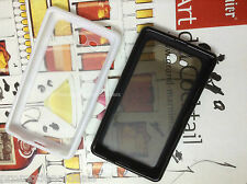 Buy - 2. /   Rubber Bumper Transparent Solid Back Case Cover For Nokia Lumia 820