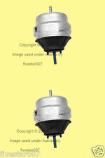 2 Corteco Left+Right Engine Motor Mounts Set_Carriers for Audi_for Volkswagen VW