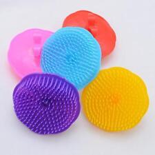 Silikon Massagebürste Massagebürsten Haarbürste Transparent Farbe zufällige