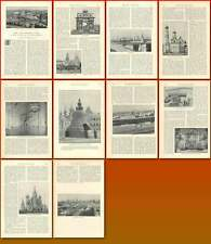 1896 A Visit To Moscow And The Kremlin By Charles Pelham Clinton